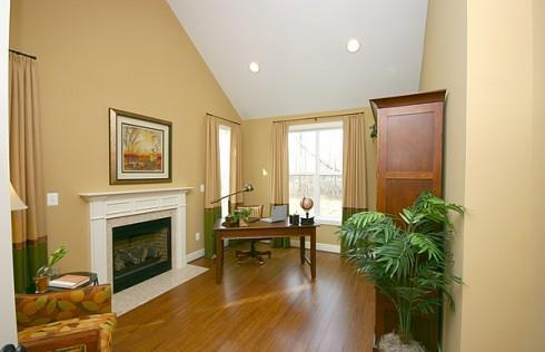 Living Area featured in the Emerson By Baldwin Homes Inc. in Baltimore, MD