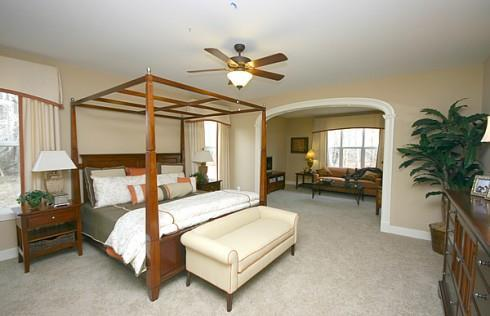 Bedroom featured in the Emerson By Baldwin Homes Inc. in Baltimore, MD