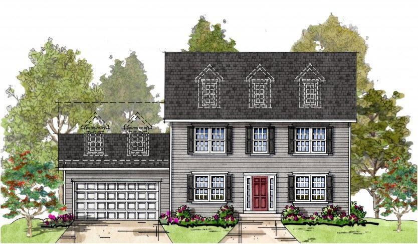 Exterior featured in the Blair FL By Baldwin Homes Inc. in Baltimore, MD