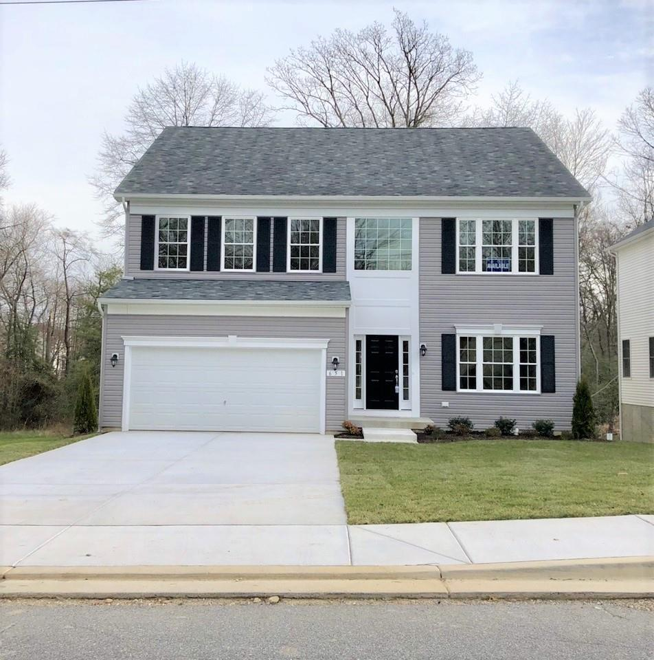 Exterior featured in the Westover By Baldwin Homes Inc. in Baltimore, MD