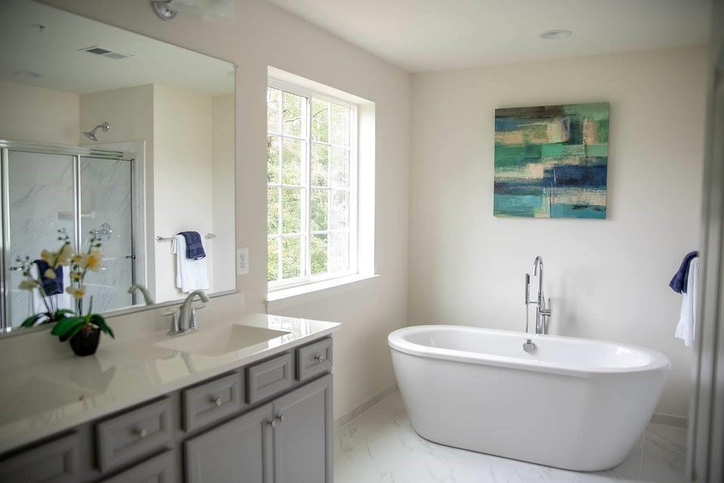 Bathroom featured in the Westover By Baldwin Homes Inc. in Baltimore, MD