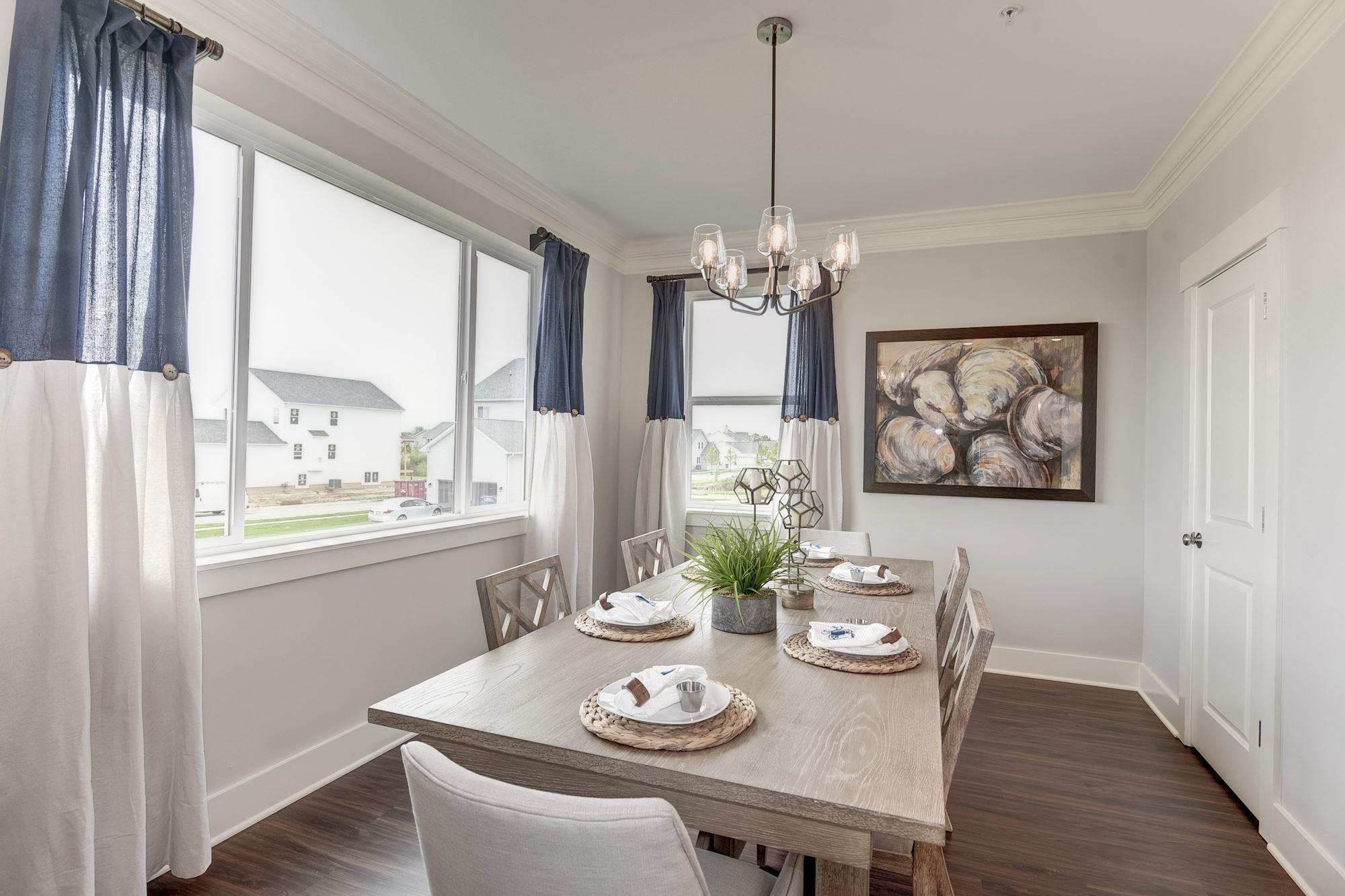 Living Area featured in the Townhome-End Unit By Baldwin Homes Inc. in Eastern Shore, MD