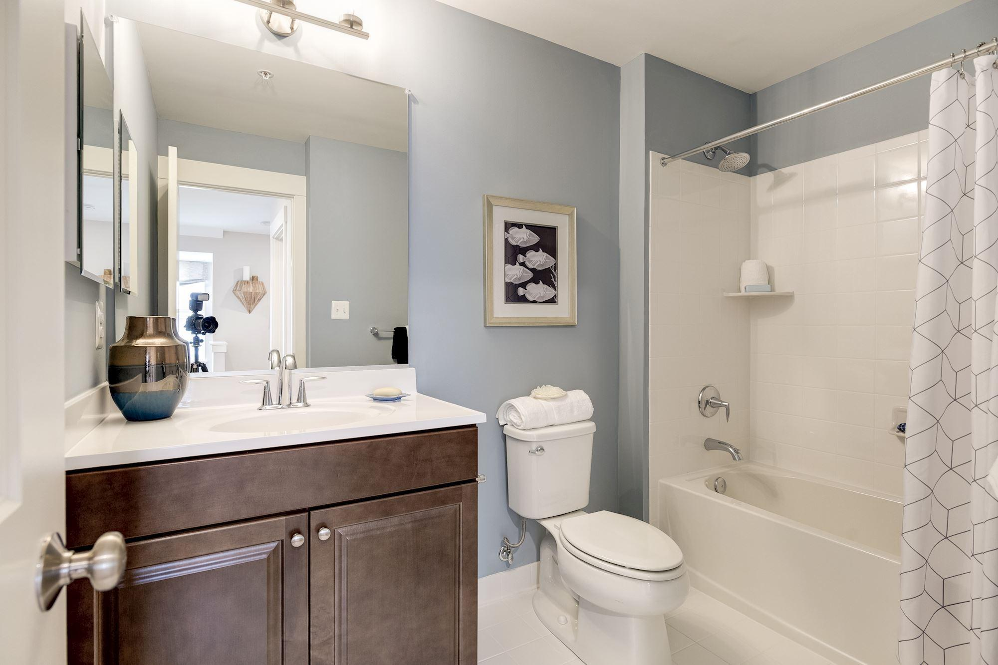 Bathroom featured in the Townhome-Interior Unit By Baldwin Homes Inc. in Eastern Shore, MD