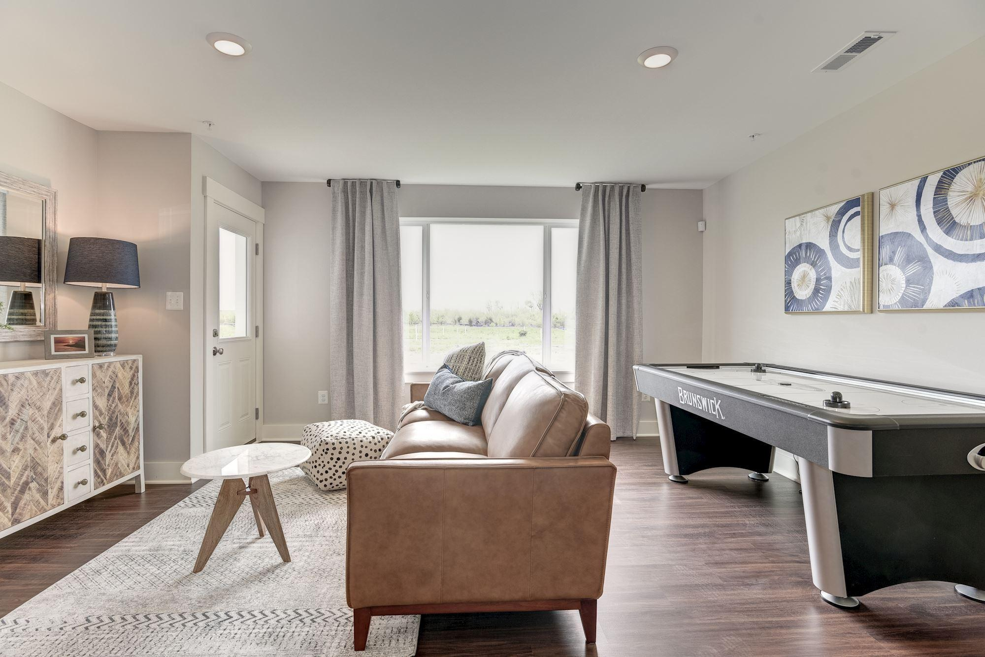 Living Area featured in the Townhome-Interior Unit By Baldwin Homes Inc. in Eastern Shore, MD