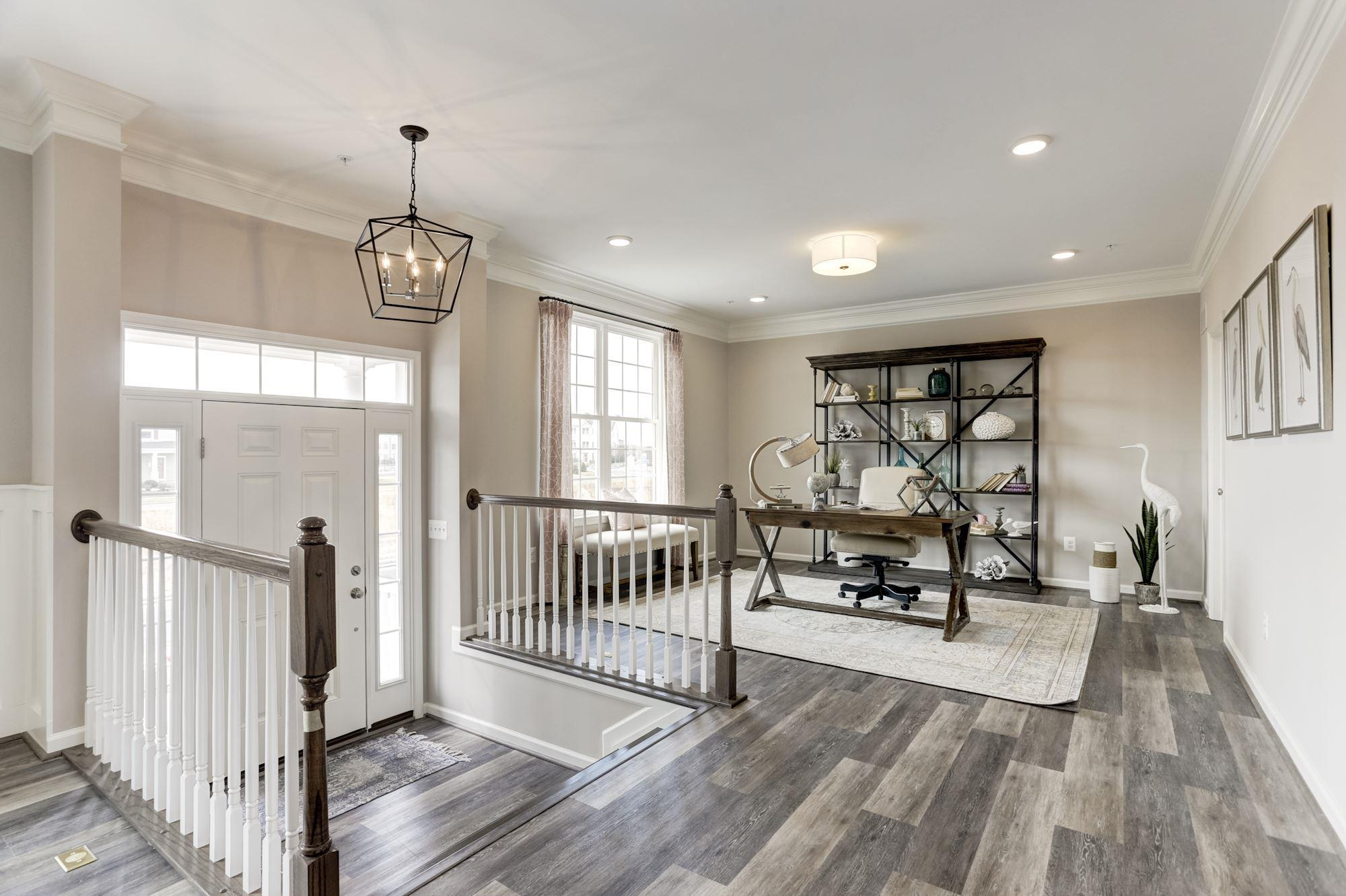 Living Area featured in the Blair with English Basement By Baldwin Homes Inc. in Eastern Shore, MD