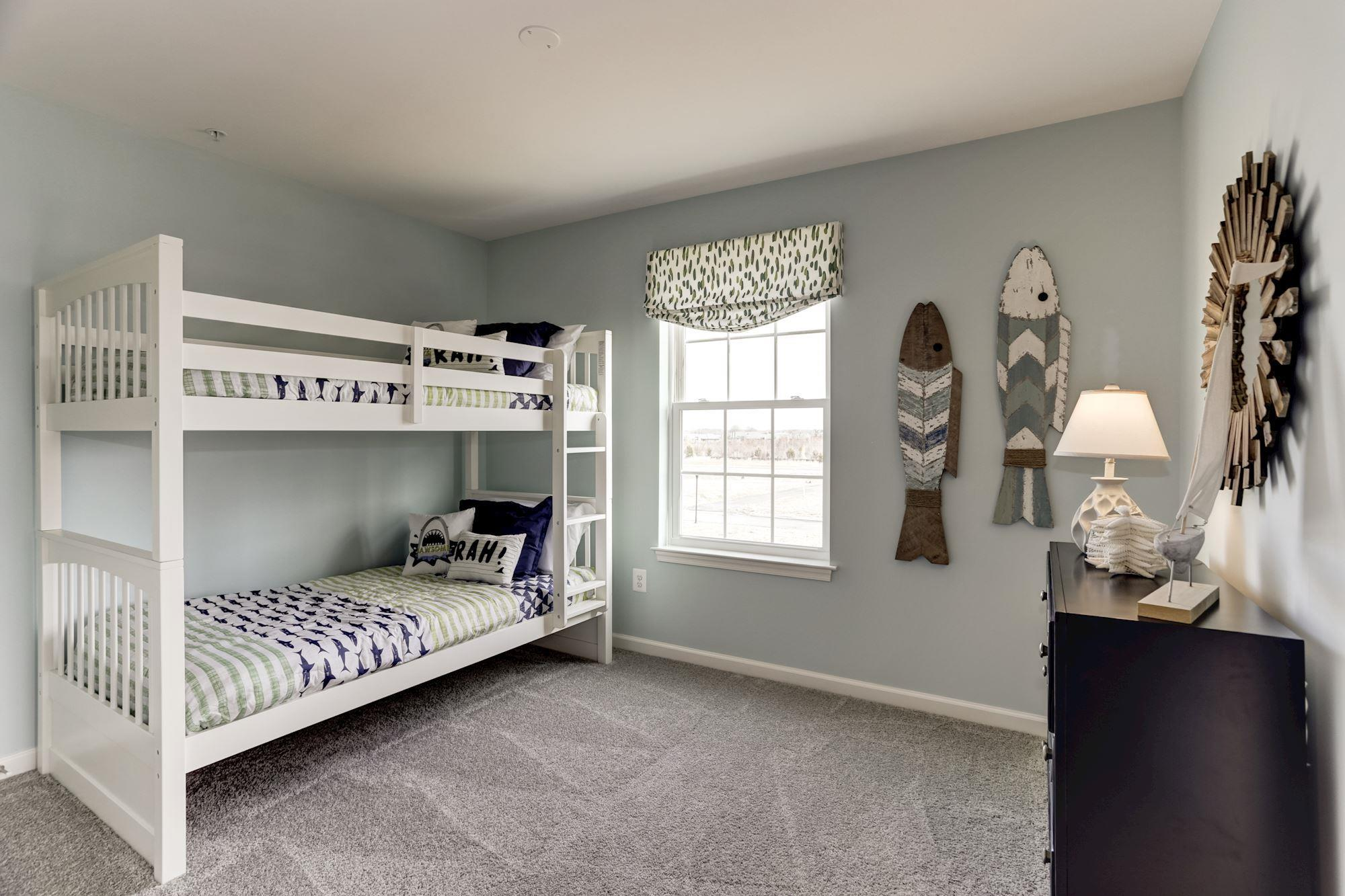Bedroom featured in the Blair with English Basement By Baldwin Homes Inc. in Eastern Shore, MD