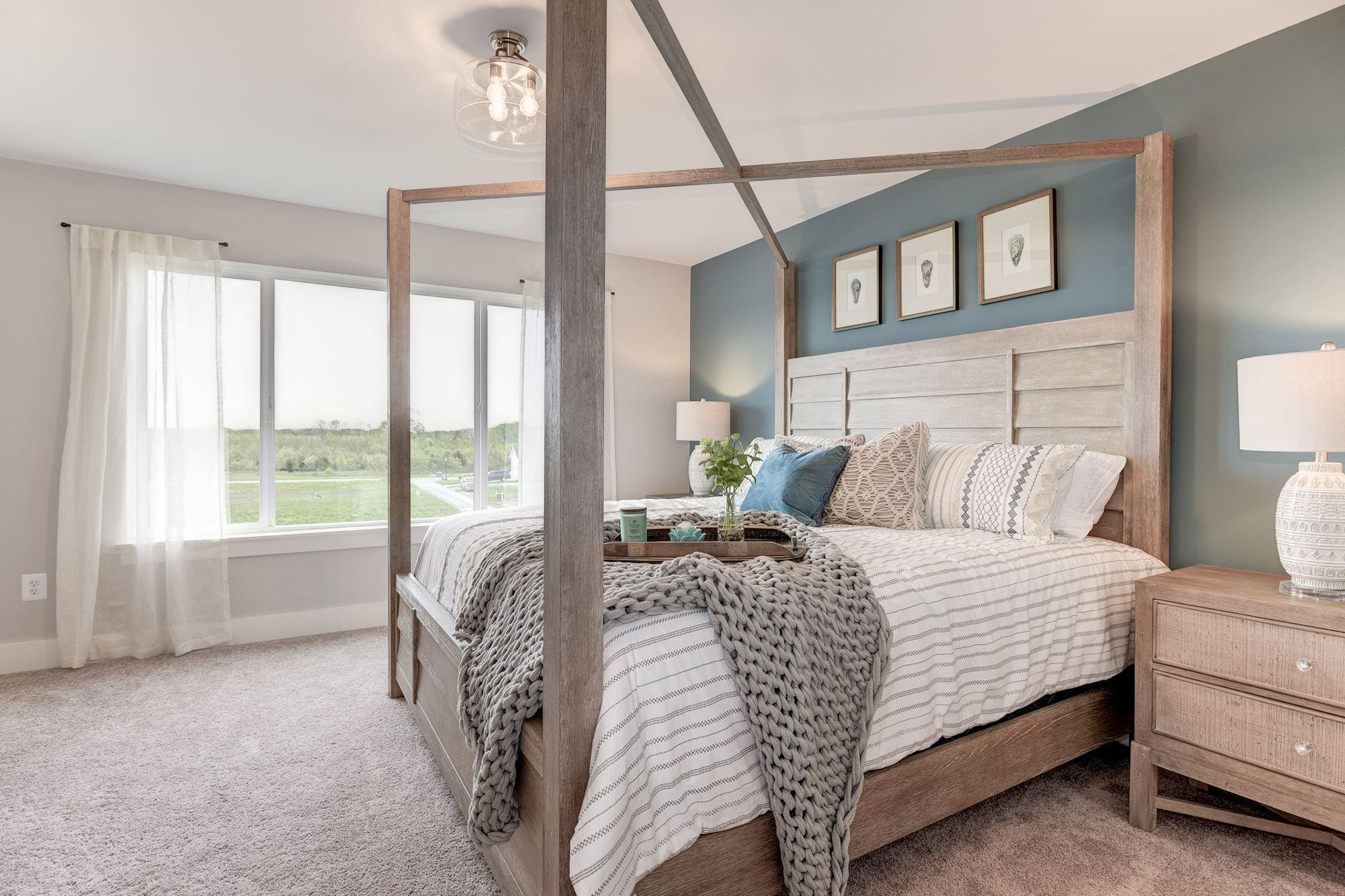 Bedroom featured in the Townhome-End Unit By Baldwin Homes Inc. in Eastern Shore, MD