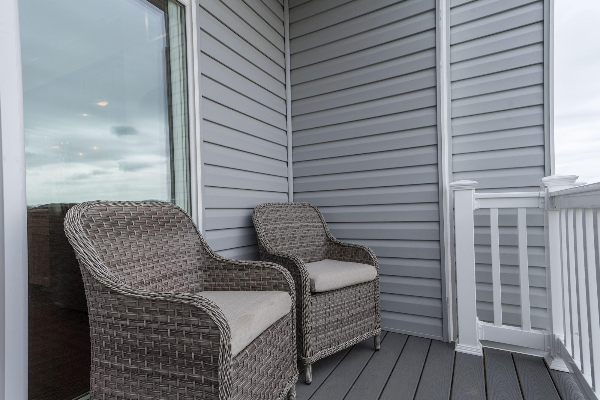 Exterior featured in the Townhome-Interior Unit By Baldwin Homes Inc. in Eastern Shore, MD
