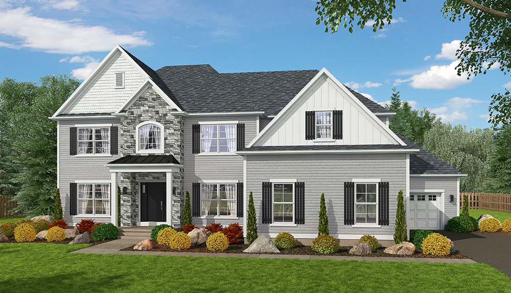 Exterior featured in The Washington By Barbera Homes, Inc. in Albany-Saratoga, NY
