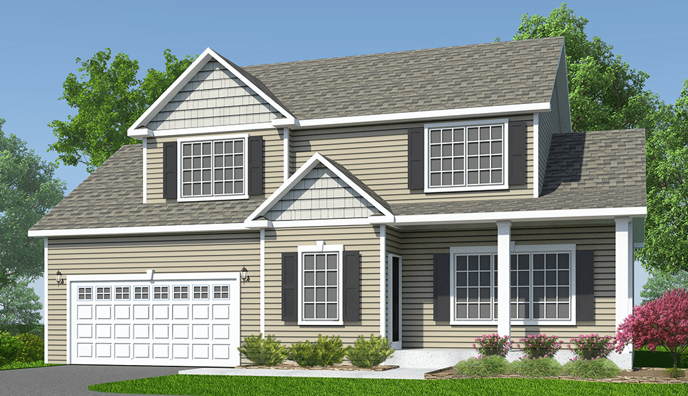 Exterior featured in The Sage By Barbera Homes, Inc. in Albany-Saratoga, NY