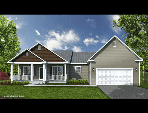 Exterior featured in The Truman II By Barbera Homes, Inc. in Albany-Saratoga, NY