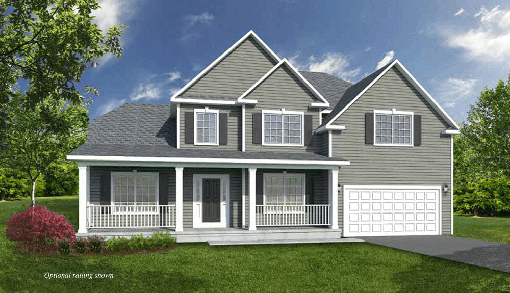 Exterior featured in The Lincoln By Barbera Homes, Inc. in Albany-Saratoga, NY