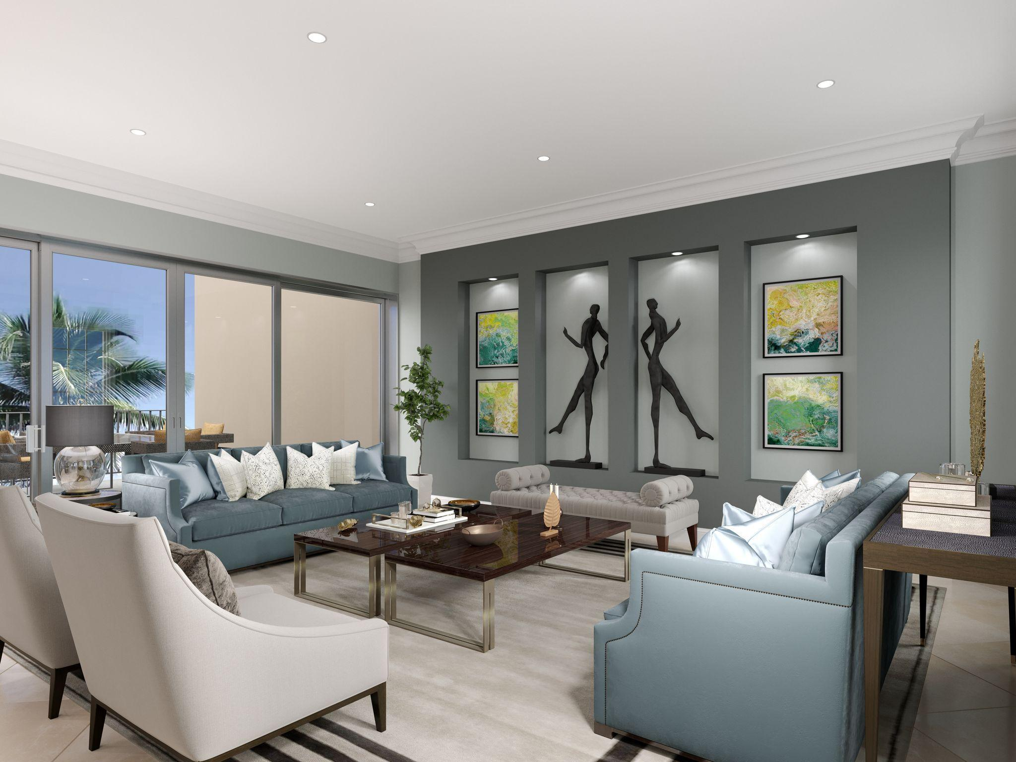 Living Area featured in the Doria By Genova Partners LLC in Fort Myers, FL