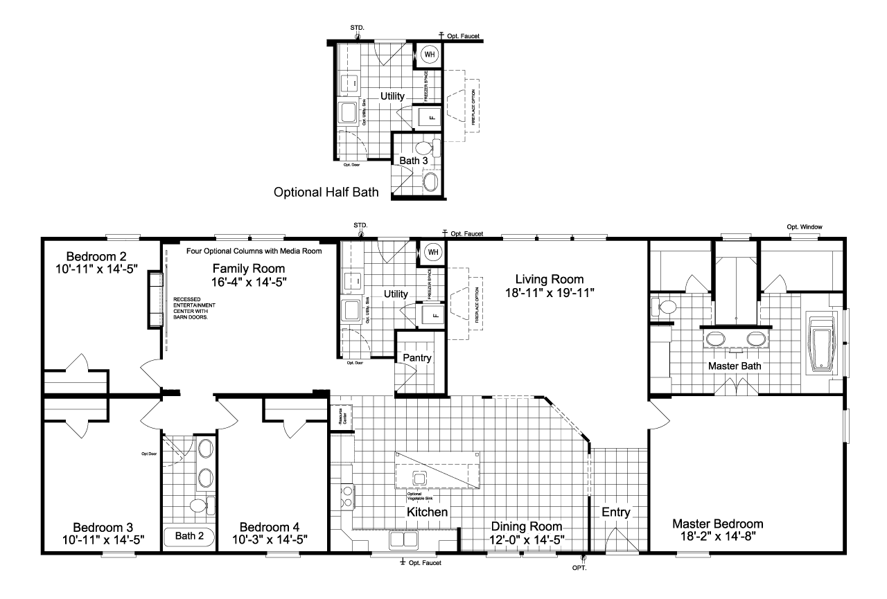 Palm Harbor Homes New Home Plans in Dallas TX | NewHomeSource on palm harbor floor plans 2007, bonanza home floor plan, palm harbor double wides, pecan palm harbor manufactured home plan, color floor plan, palm harbor community center,