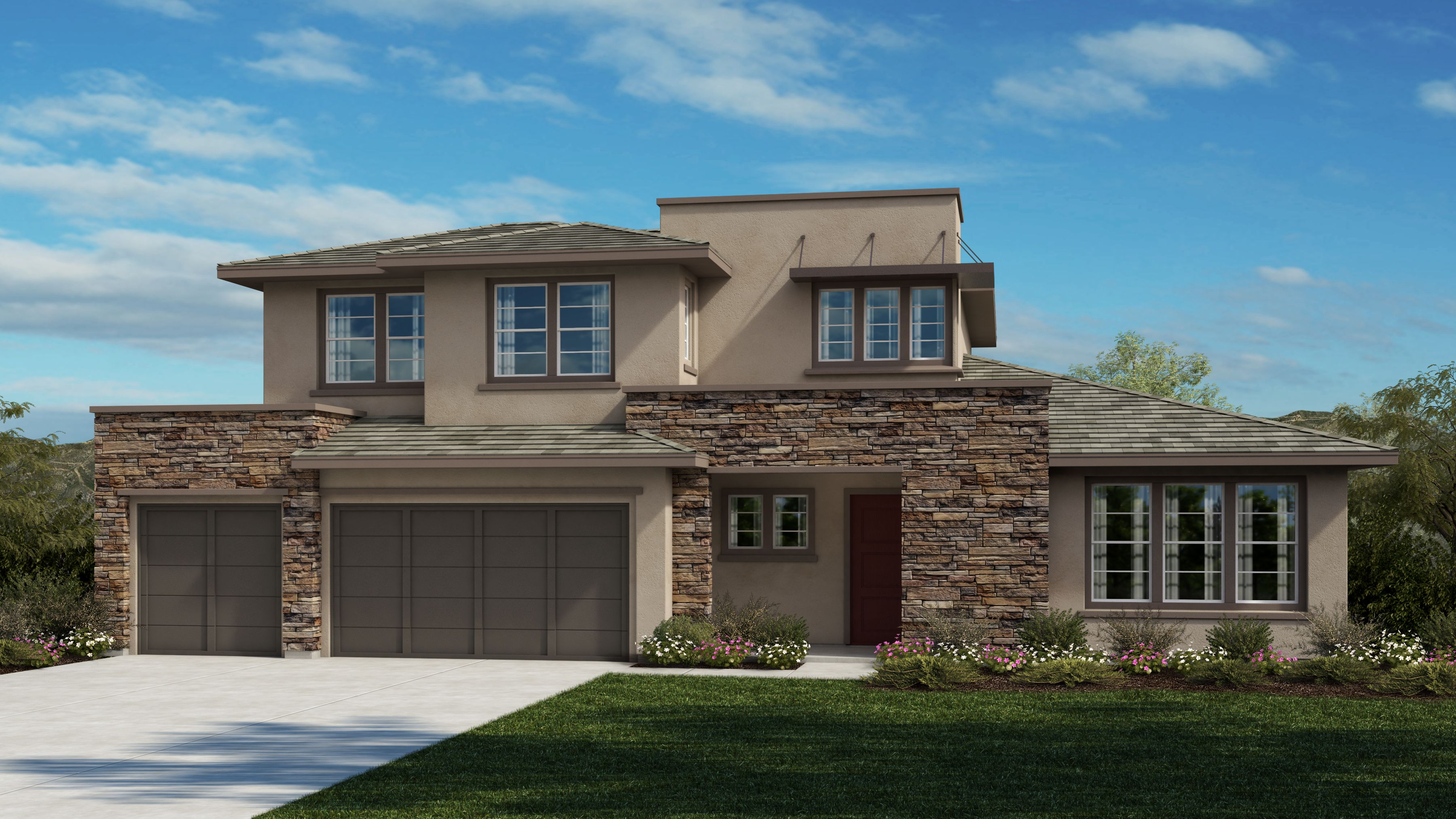 Exterior featured in the Plan 2 By Bates Homes in Reno, NV