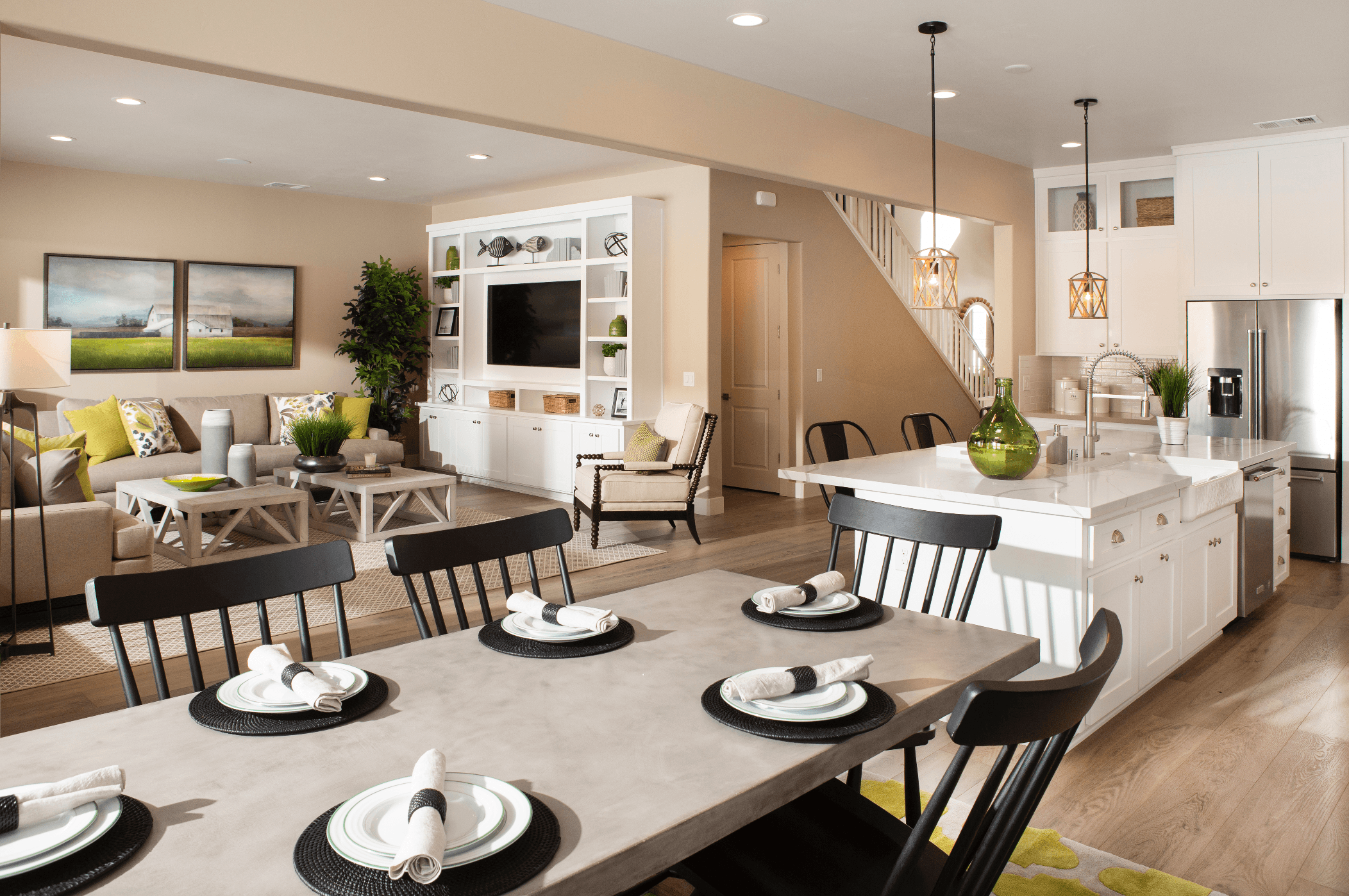 Living Area featured in the Plan 4 By Bates Homes in Reno, NV