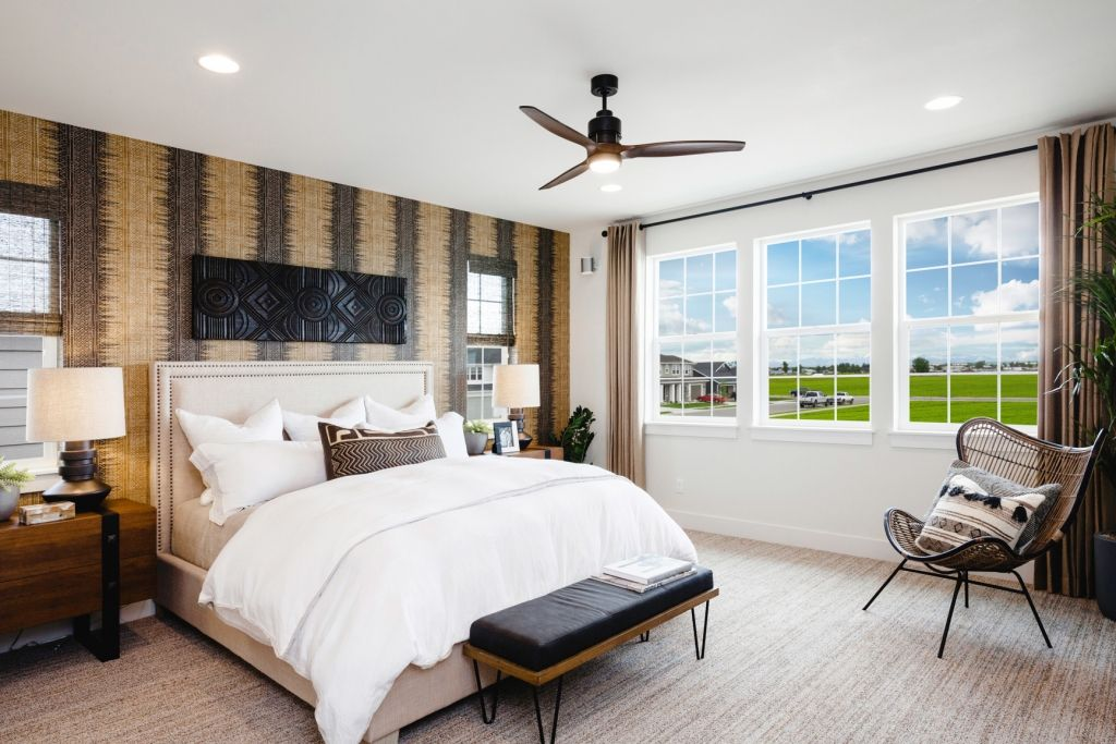 Bedroom featured in the Residence 1 By Bates Homes in Reno, NV