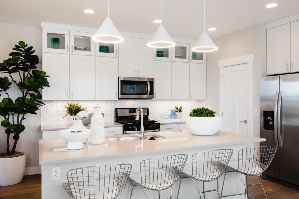 Kitchen featured in the Residence 2 By Bates Homes in Reno, NV