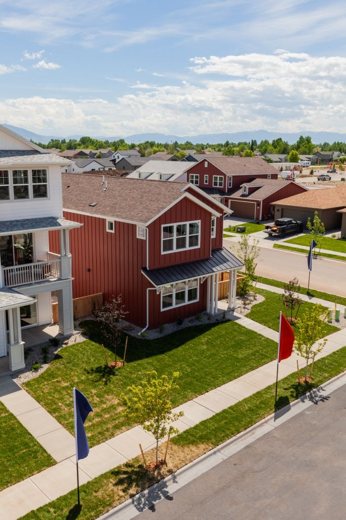 Exterior featured in the Residence 2 By Bates Homes in Reno, NV