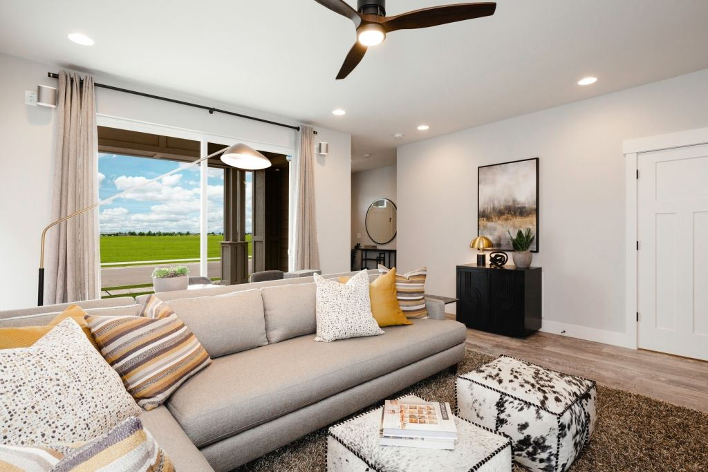 Living Area featured in the Residence 3 By Bates Homes in Reno, NV