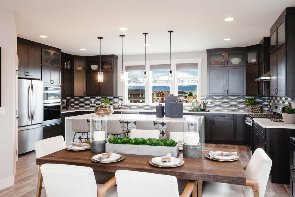 Kitchen featured in the Residence 3 By Bates Homes in Reno, NV
