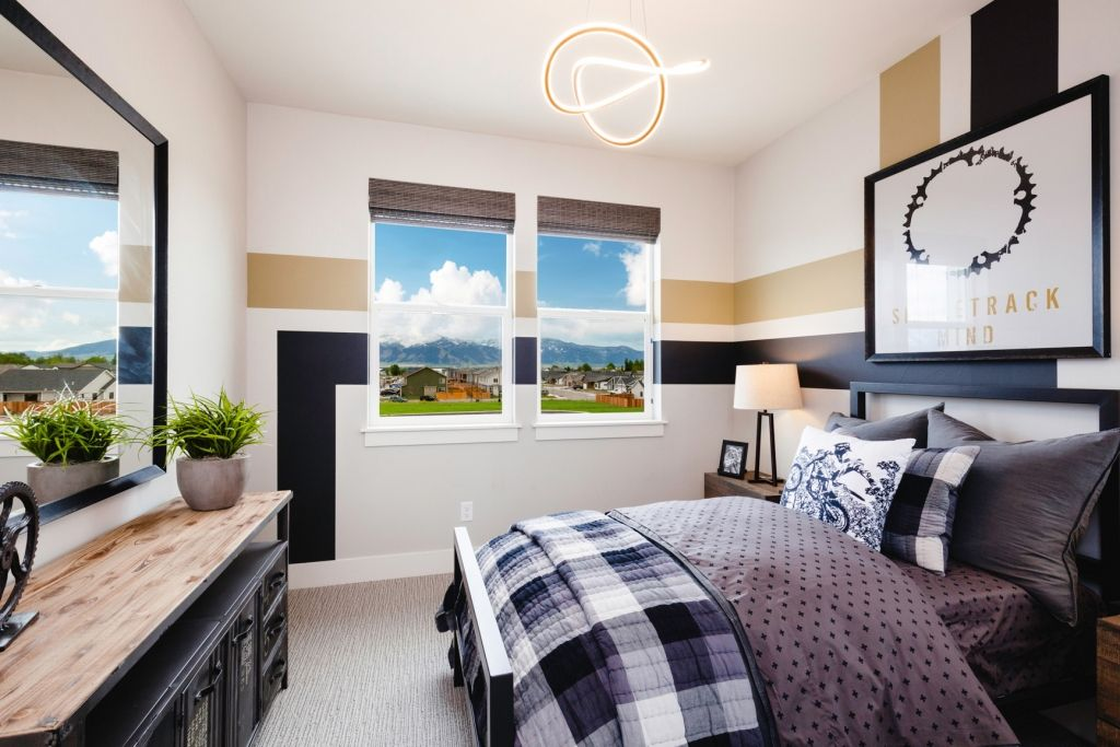 Bedroom featured in the Residence 3 By Bates Homes in Reno, NV