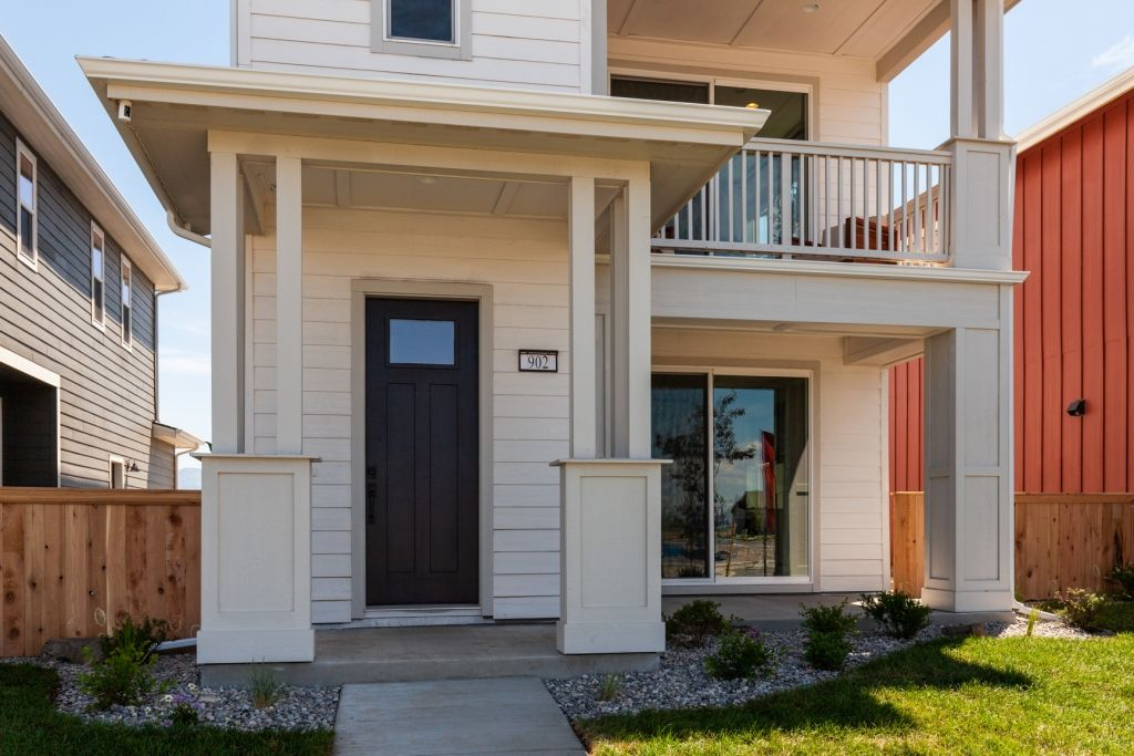 Exterior featured in the Residence 3 By Bates Homes in Reno, NV