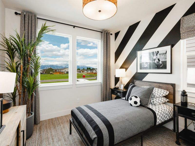 Bedroom featured in the Morgan Series Plan 1 By Bates Homes in Helena, MT