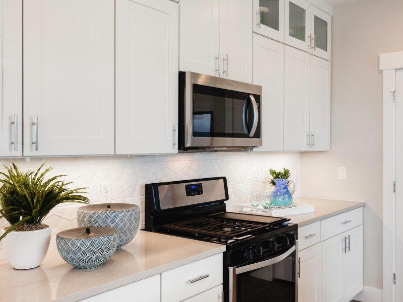 Kitchen featured in the Morgan Series Plan 2 By Bates Homes in Helena, MT