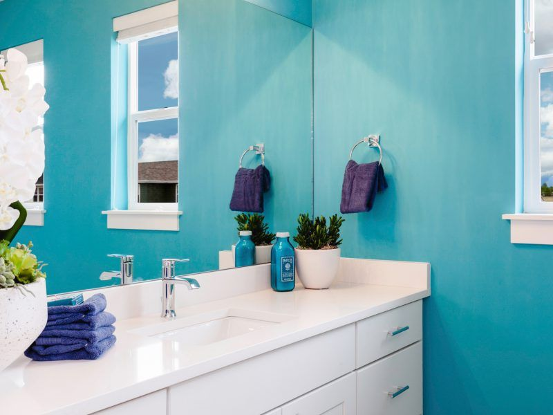 Bathroom featured in the Morgan Series Plan 2 By Bates Homes in Helena, MT