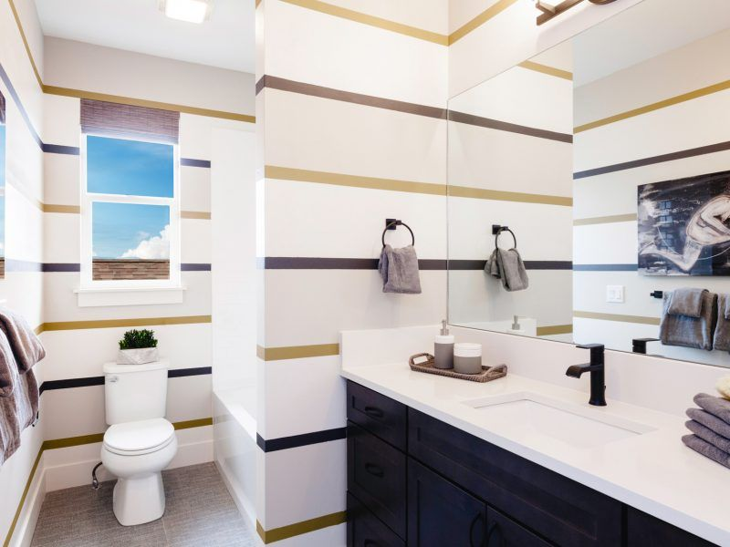 Bathroom featured in the Morgan Series Plan 3 By Bates Homes in Helena, MT
