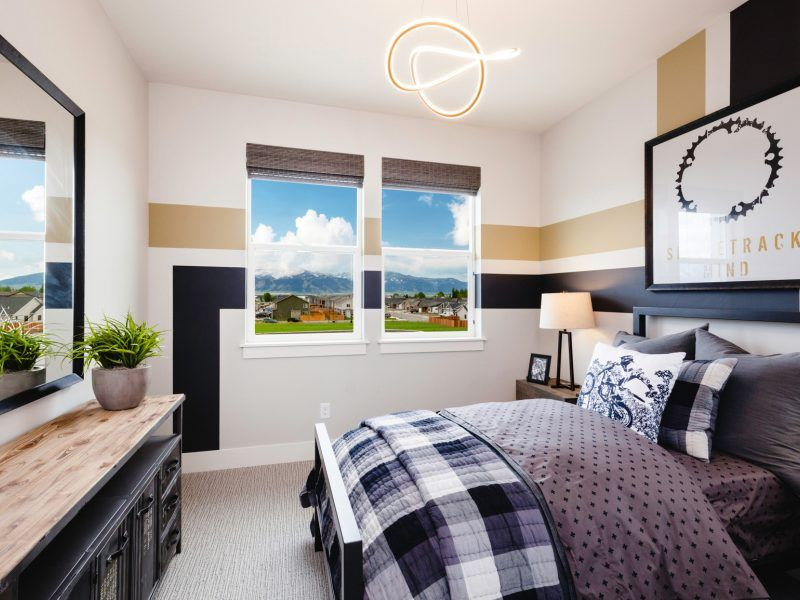 Bedroom featured in the Morgan Series Plan 3 By Bates Homes in Helena, MT