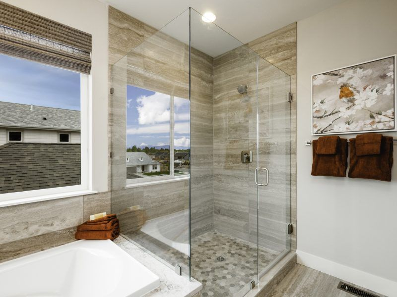 Bathroom featured in the Morgan Series Plan 4 By Bates Homes in Helena, MT