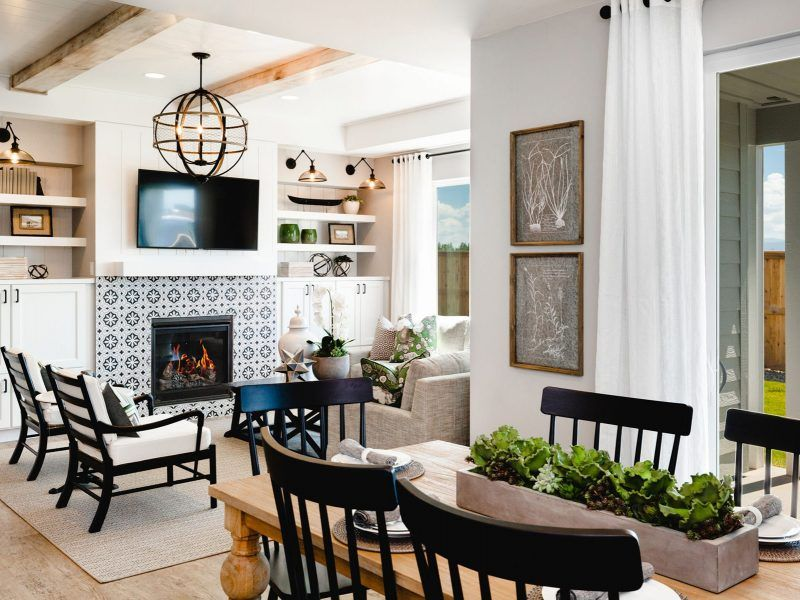 Living Area featured in the Appaloosa Series Plan 1 By Bates Homes in Helena, MT