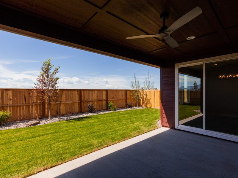 Exterior featured in the Appaloosa Series Plan 2 By Bates Homes in Helena, MT
