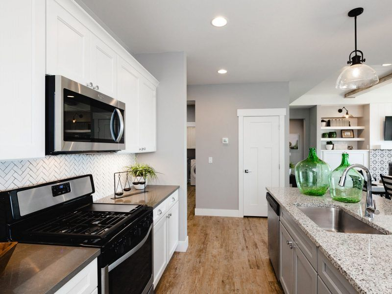 Kitchen featured in the Appaloosa Series Plan 2 By Bates Homes in Helena, MT
