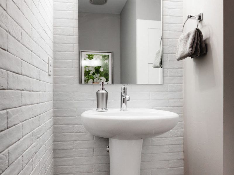 Bathroom featured in the Appaloosa Series Plan 2 By Bates Homes in Helena, MT