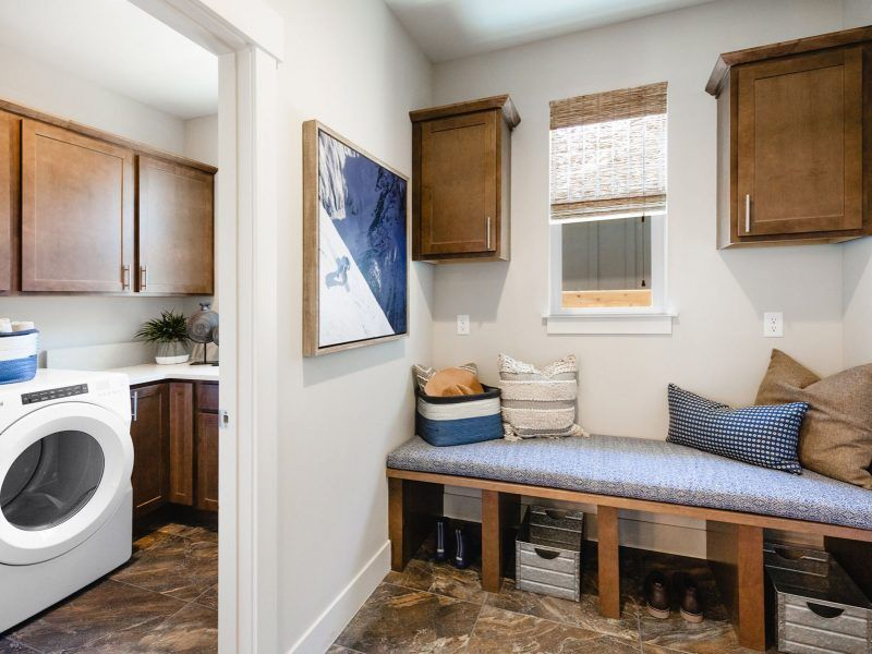 Living Area featured in the Appaloosa Series Plan 3 By Bates Homes in Helena, MT