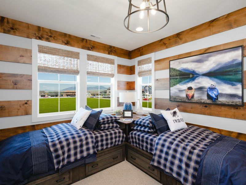 Bedroom featured in the Appaloosa Series Plan 3 By Bates Homes in Helena, MT