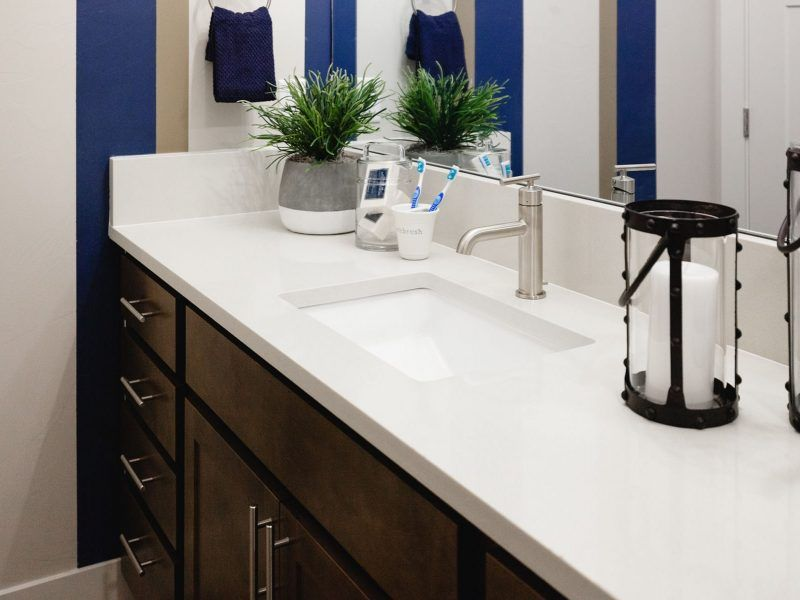 Bathroom featured in the Appaloosa Series Plan 3 By Bates Homes in Helena, MT