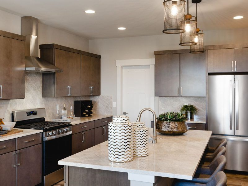 Kitchen featured in the Appaloosa Series Plan 4 By Bates Homes in Helena, MT