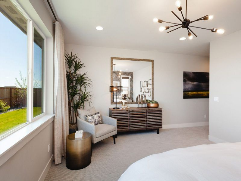 Bedroom featured in the Appaloosa Series Plan 4 By Bates Homes in Helena, MT