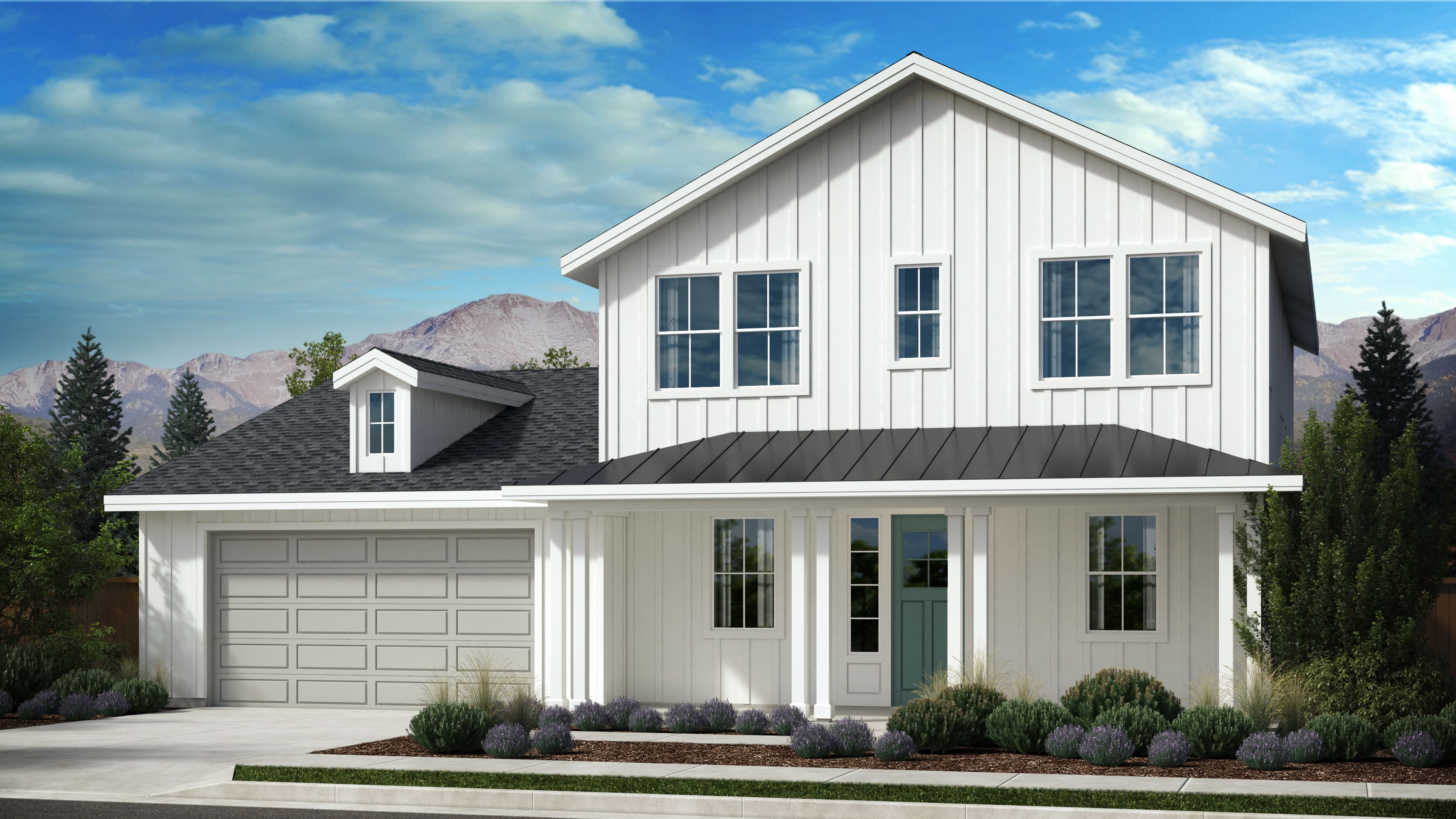 Exterior featured in the Appaloosa Series Plan 3 By Bates Homes in Helena, MT