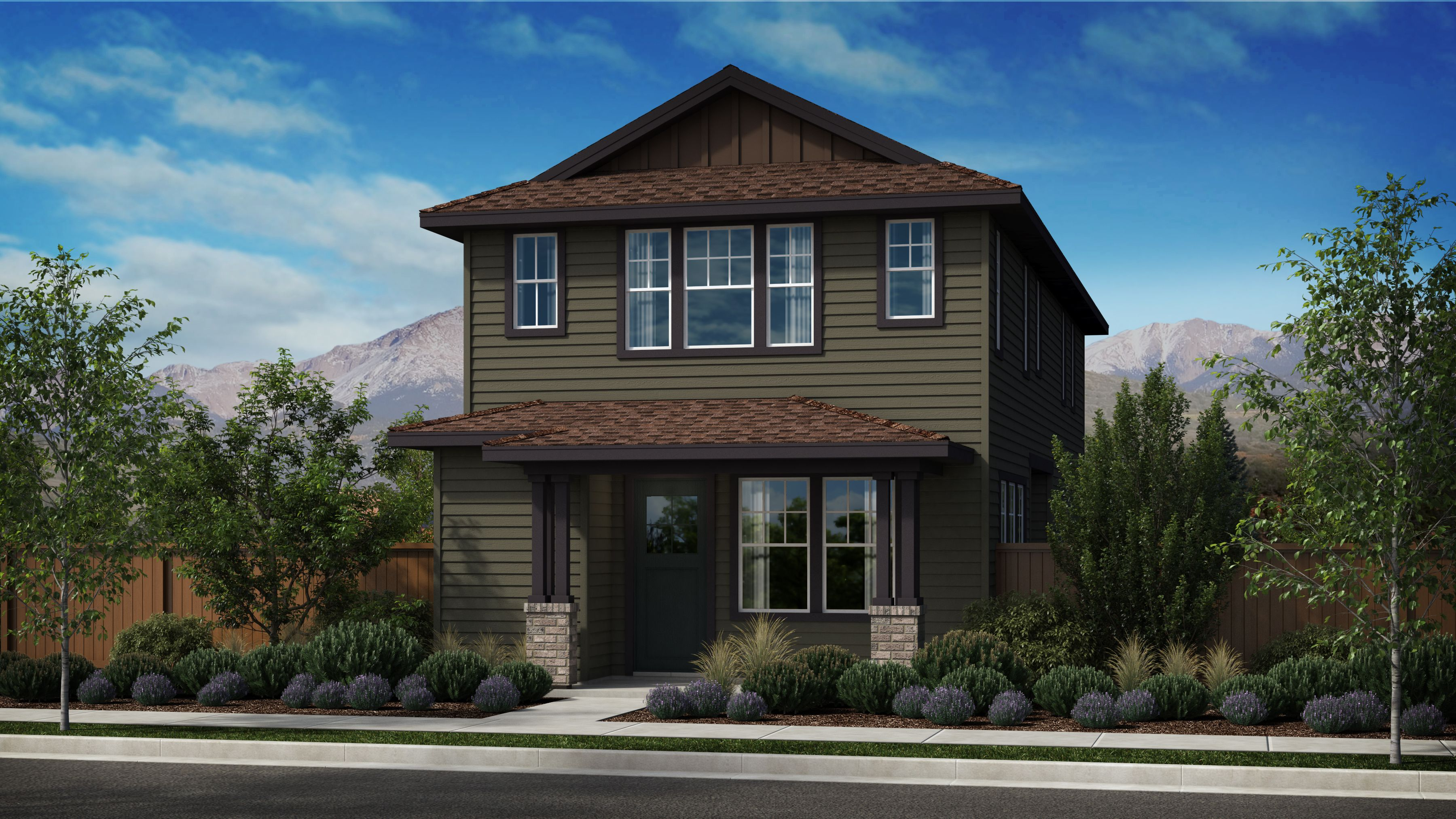 Exterior featured in the Morgan Series Plan 1 By Bates Homes in Helena, MT