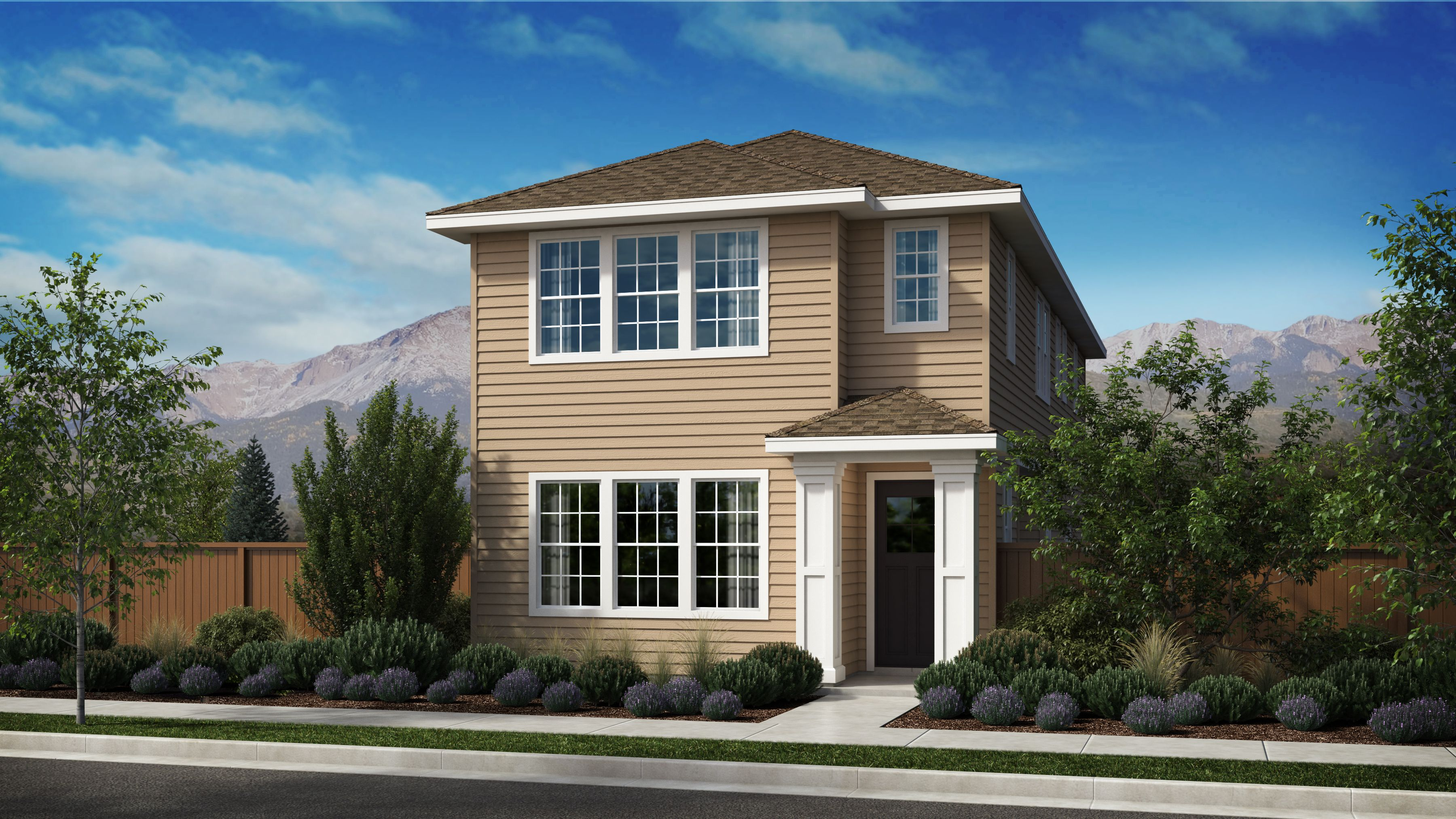 Exterior featured in the Morgan Series Plan 2 By Bates Homes in Helena, MT