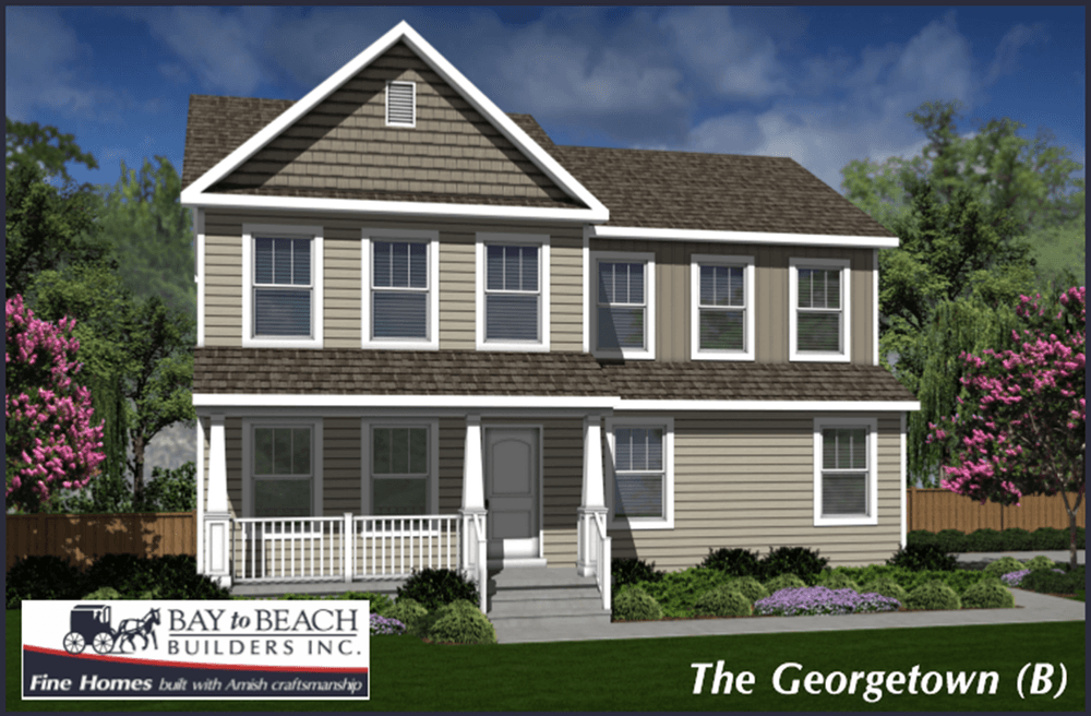 The Georgetown Home Plan by Bay to Beach Builders Inc in All Bay to – Bay To Beach Builders Floor Plans