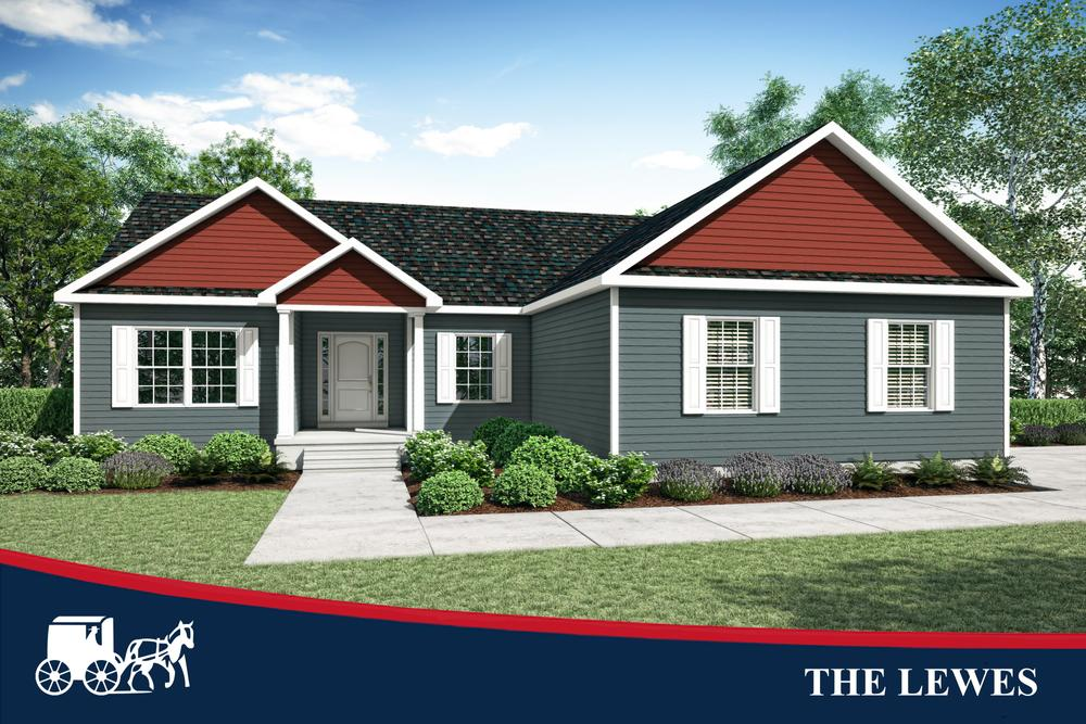 The Lewes Home Plan By Bay To Beach Builders Inc In All Bay To Beach Floorplans