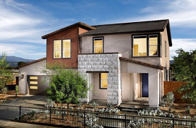 Quartz Mid-Century Modern Exterior