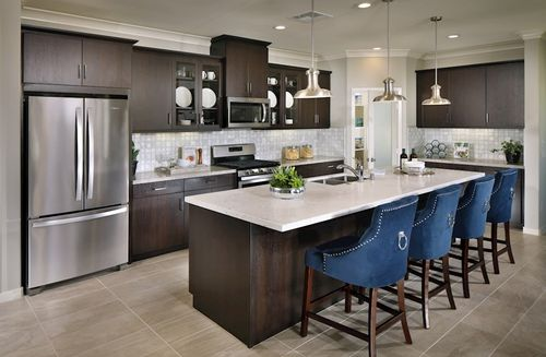 Kitchen-in-Napa-at-Provence at Heritage Ranch-in-Winchester