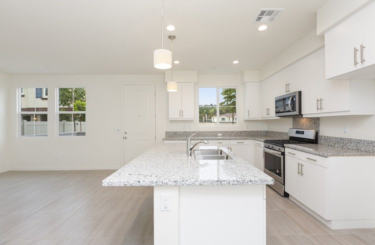Kitchen featured in the Pinyon By Beazer Homes in San Diego, CA